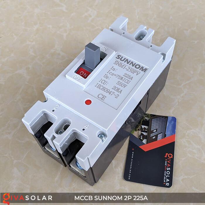 MCCB Sunnom 2P 225A 550VDC 4