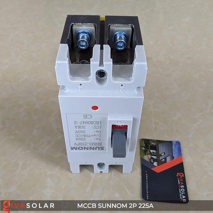 MCCB Sunnom 2P 225A 550VDC 5