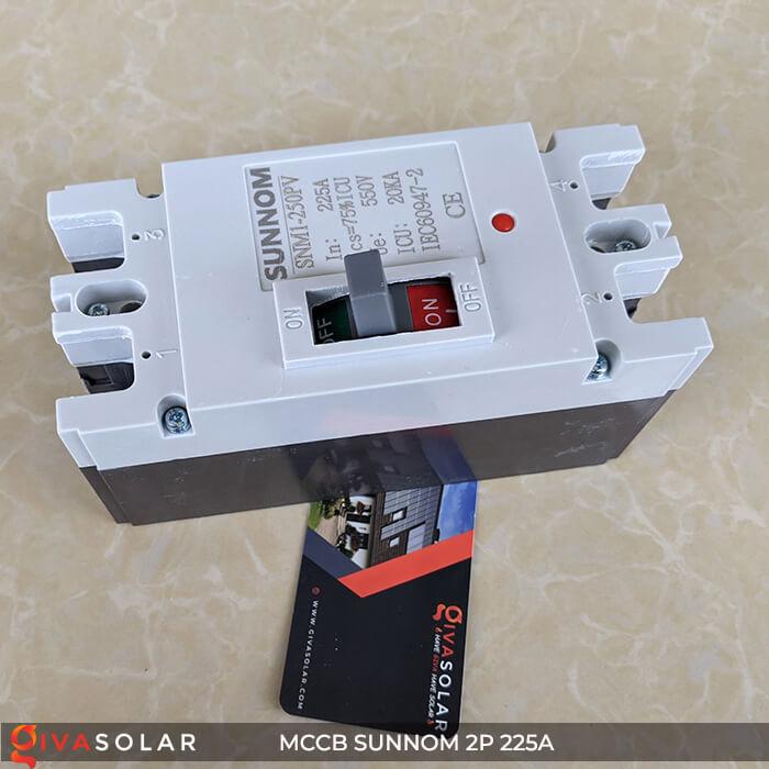 MCCB Sunnom 2P 225A 550VDC 6
