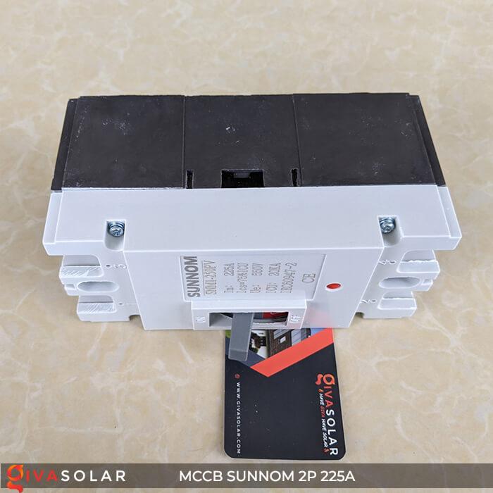 MCCB Sunnom 2P 225A 550VDC 7