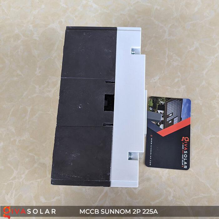 MCCB Sunnom 2P 225A 550VDC 8