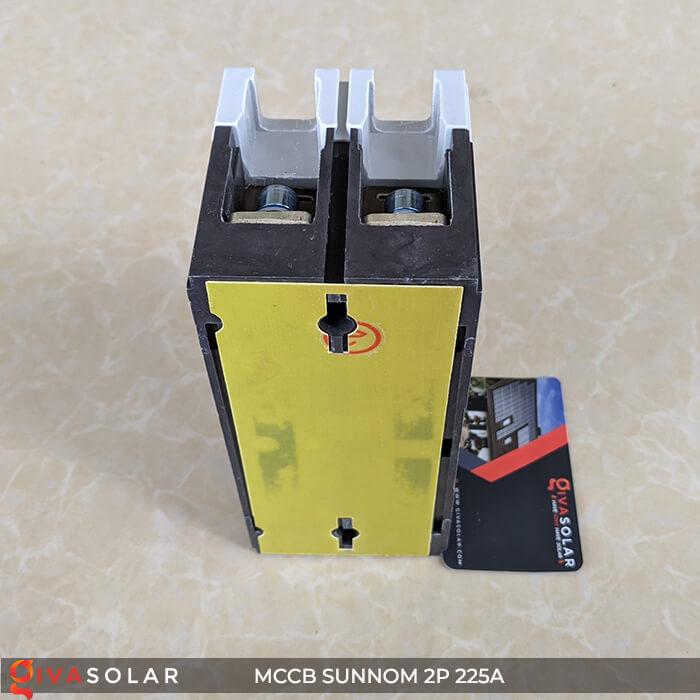 MCCB Sunnom 2P 225A 550VDC 9