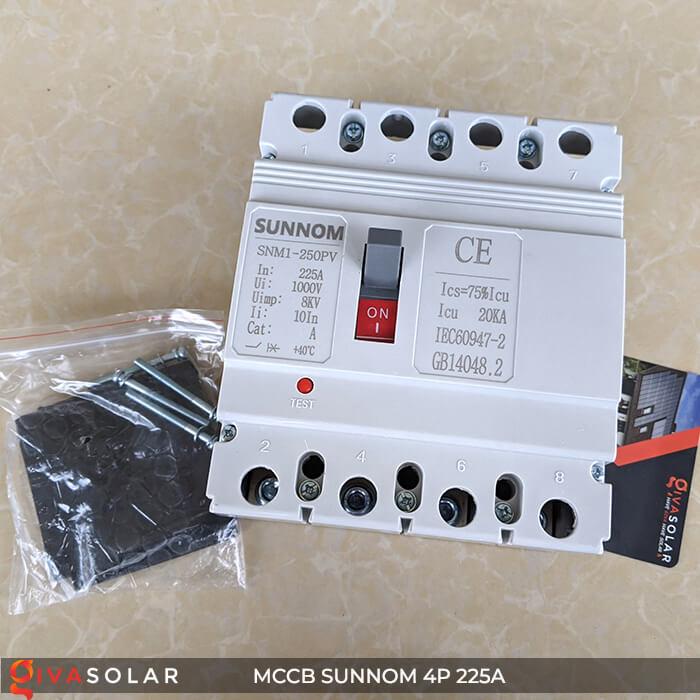 MCCB Sunnom 4P 225A 1000VDC 1