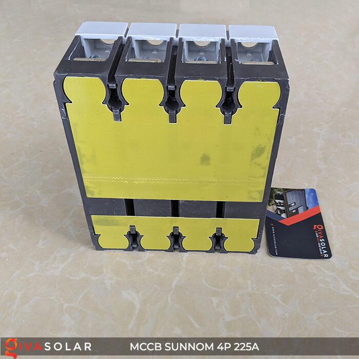 MCCB Sunnom 4P 225A 1000VDC 12