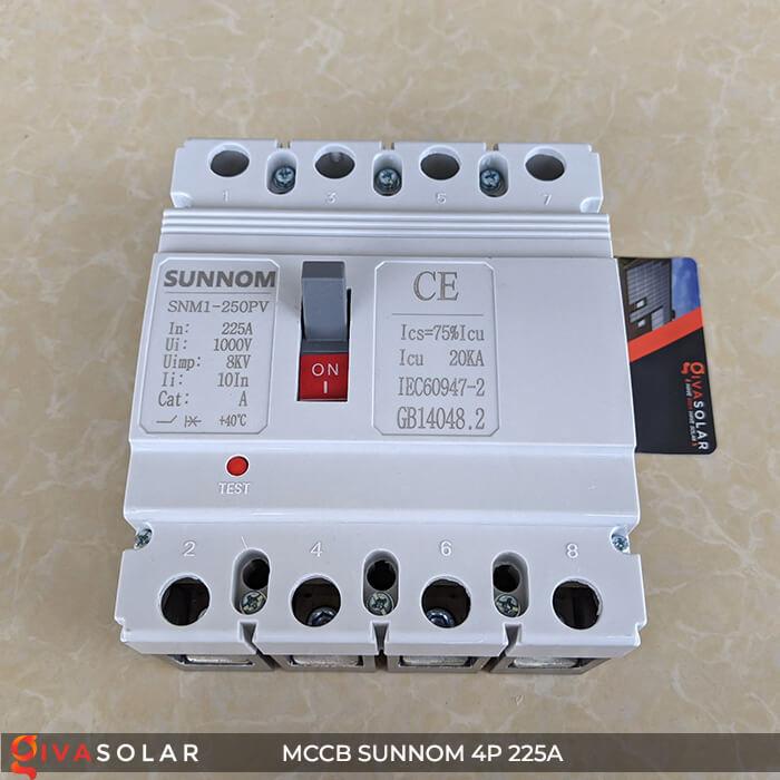MCCB Sunnom 4P 225A 1000VDC 2