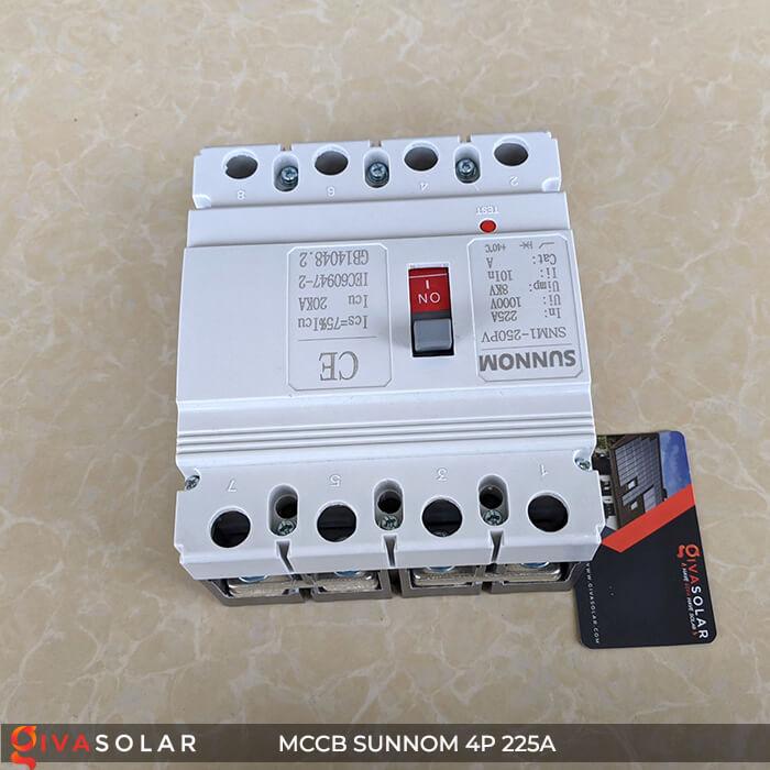 MCCB Sunnom 4P 225A 1000VDC 3