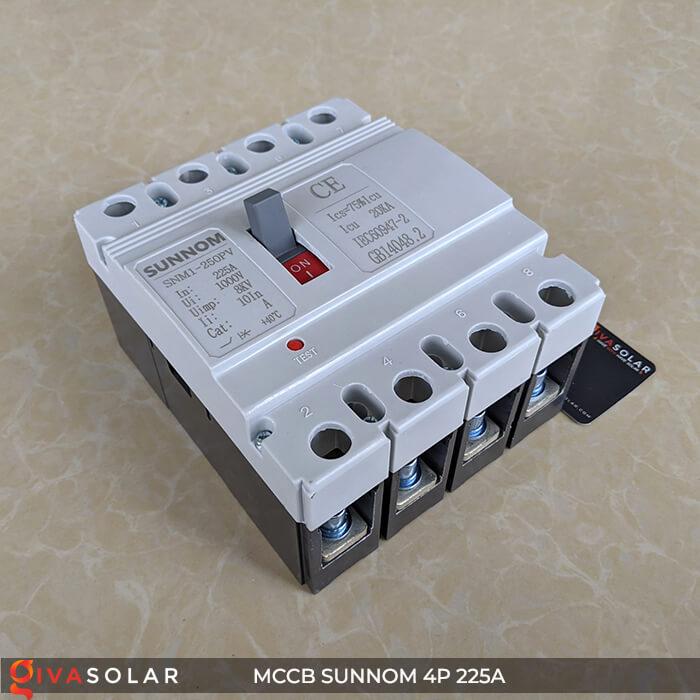 MCCB Sunnom 4P 225A 1000VDC 4