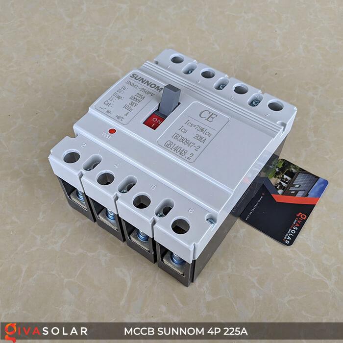 MCCB Sunnom 4P 225A 1000VDC 5