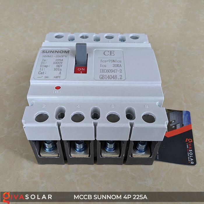 MCCB Sunnom 4P 225A 1000VDC 6