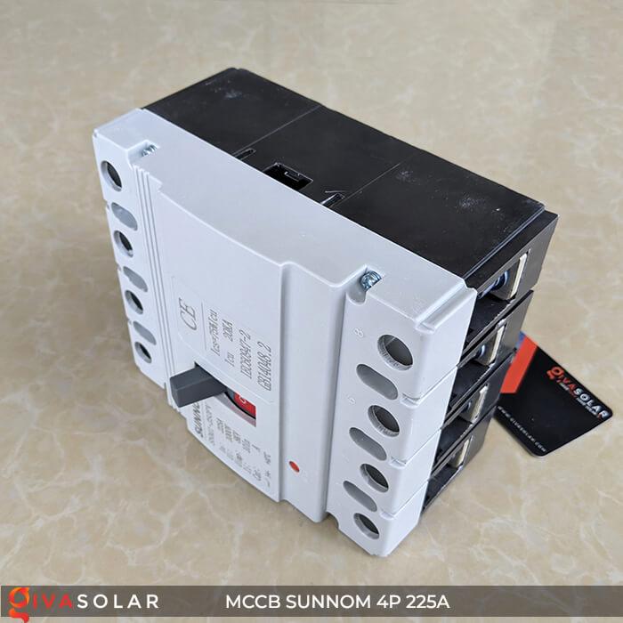 MCCB Sunnom 4P 225A 1000VDC 7
