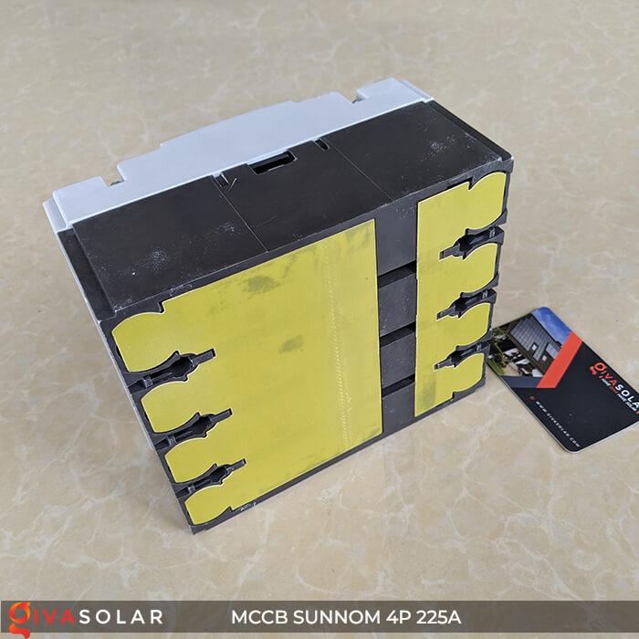 MCCB Sunnom 4P 225A 1000VDC 8