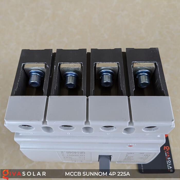 MCCB Sunnom 4P 225A 1000VDC 9
