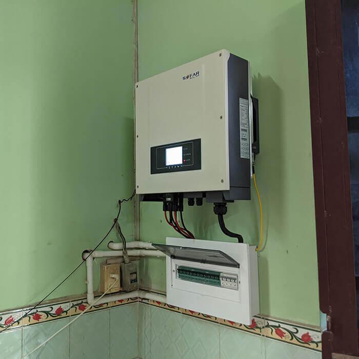 Nâng cấp hệ thống 3KW lên 11KW cho anh Chất ở Củ Chi 9