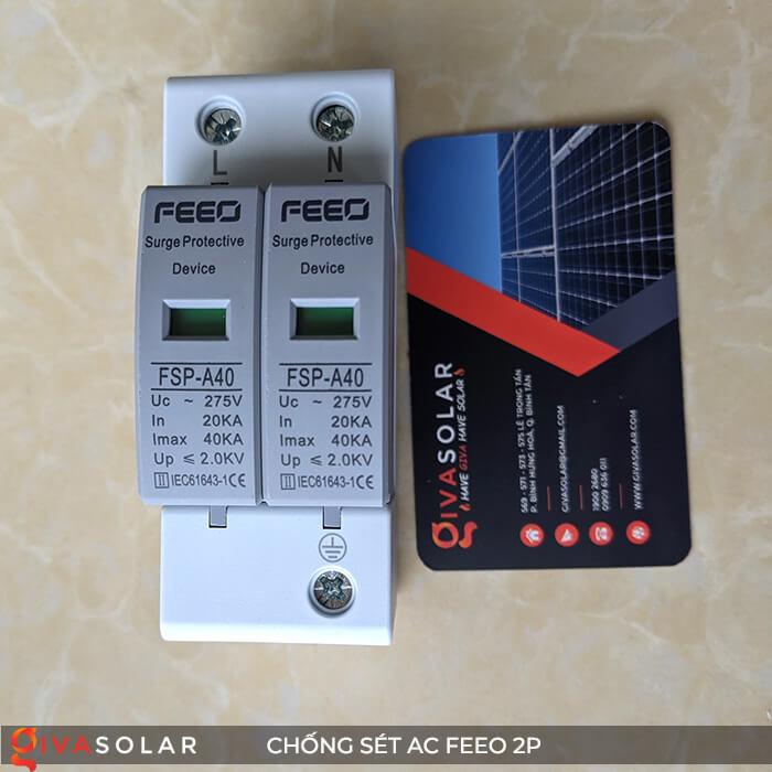 Thiết bị chống sét FEEO AC 2P 1