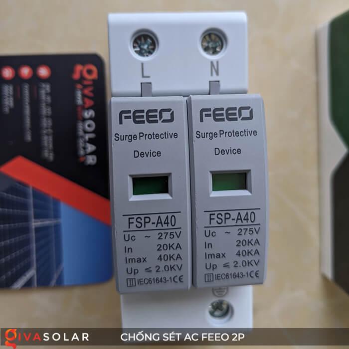 Thiết bị chống sét FEEO AC 2P 11