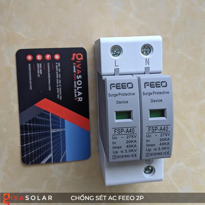 Thiết bị chống sét FEEO AC 2P 6