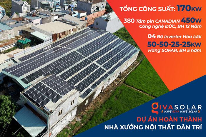 Anh Trí đầu tư điện mặt trời lần 3 vì thấy hiệu quả vượt trội công suất 170KW