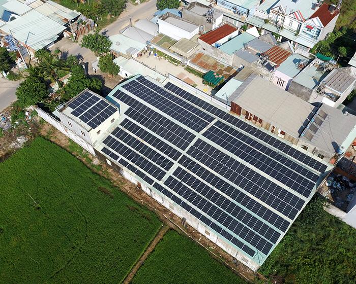 Anh Trí đầu tư điện mặt trời lần 3 vì thấy hiệu quả vượt trội công suất 170KW 2