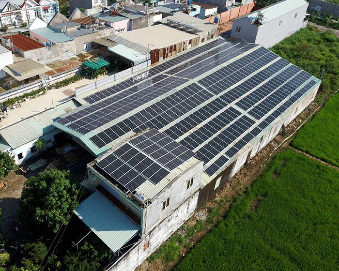 Anh Trí đầu tư điện mặt trời lần 3 vì thấy hiệu quả vượt trội công suất 170KW 3