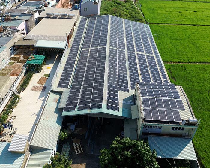 Anh Trí đầu tư điện mặt trời lần 3 vì thấy hiệu quả vượt trội công suất 170KW 4