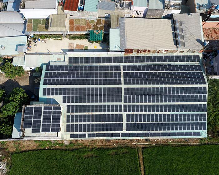 Anh Trí đầu tư điện mặt trời lần 3 vì thấy hiệu quả vượt trội công suất 170KW 5