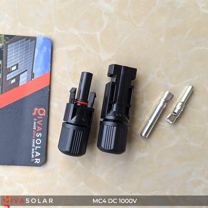 Đầu nối dây cáp MC4 IP67 DC 1000V 3