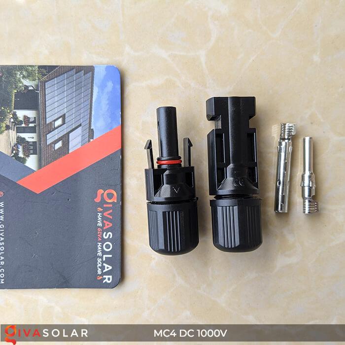 Đầu nối dây cáp MC4 IP67 DC 1000V 5