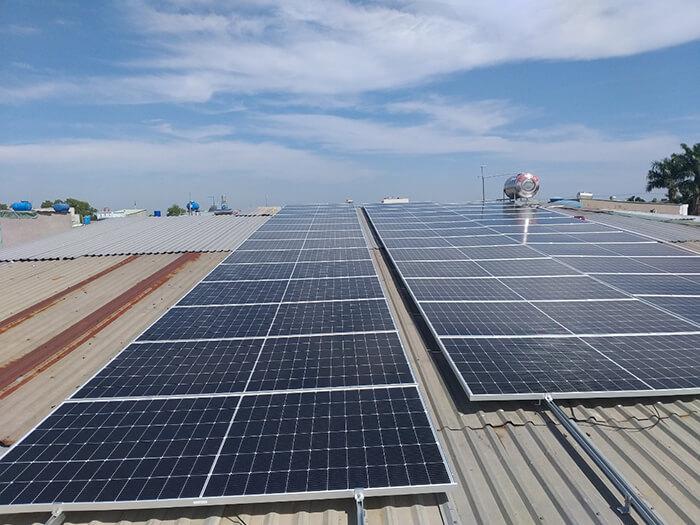 dự án điện mặt trời hòa lưới 21KW cho anh Kiệt ở Bình Chánh 3