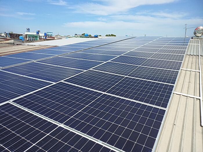 dự án điện mặt trời hòa lưới 21KW cho anh Kiệt ở Bình Chánh 4