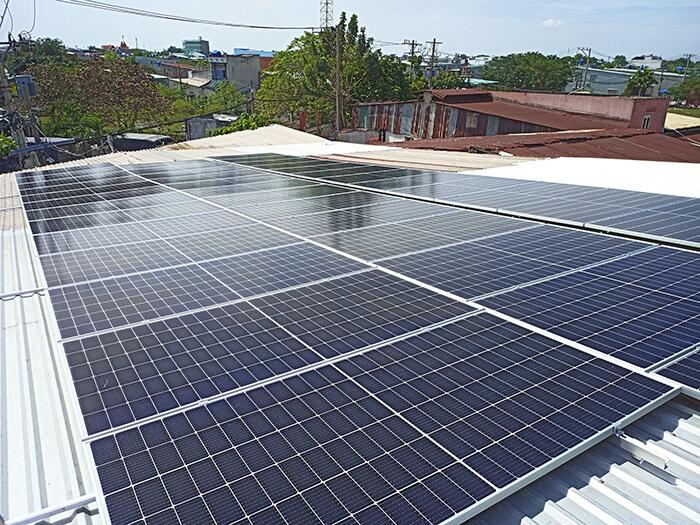dự án điện mặt trời hòa lưới 21KW cho anh Kiệt ở Bình Chánh 5