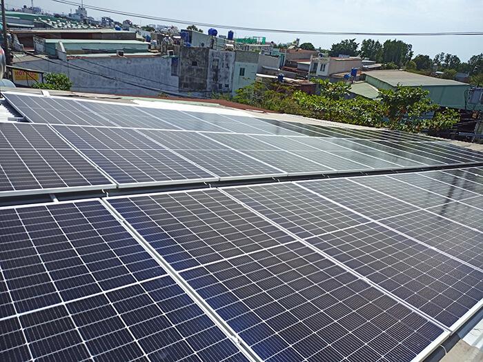 dự án điện mặt trời hòa lưới 21KW cho anh Kiệt ở Bình Chánh 6