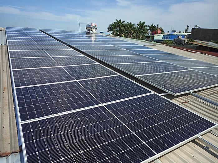 dự án điện mặt trời hòa lưới 21KW cho anh Kiệt ở Bình Chánh 7