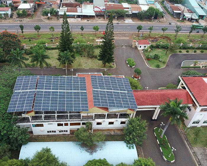 Dự án điện mặt trời hòa lưới 269KW cho Công ty cao su Chư Sê Gia Lai 10