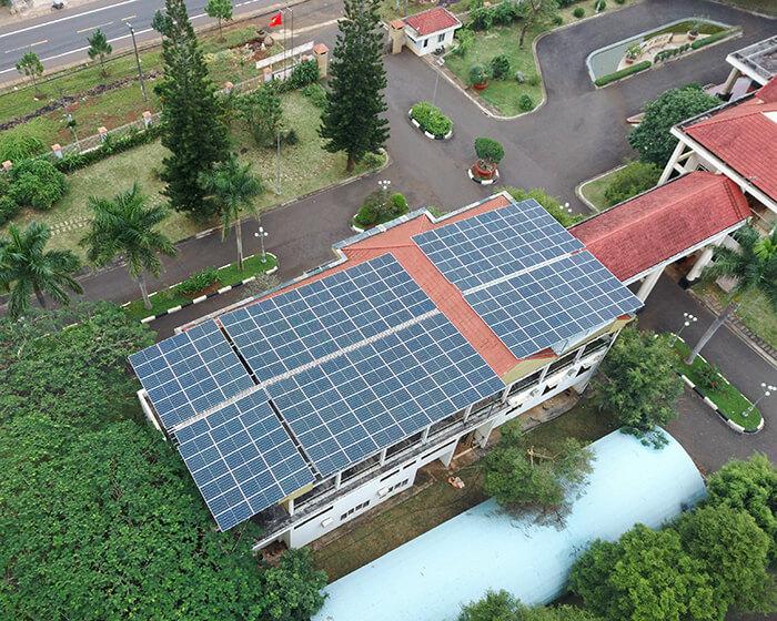 Dự án điện mặt trời hòa lưới 269KW cho Công ty cao su Chư Sê Gia Lai 11