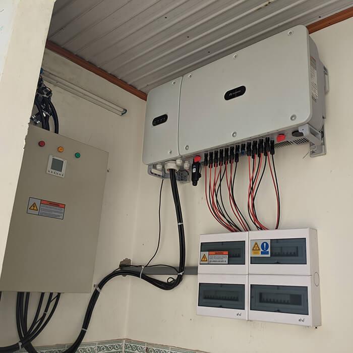 Dự án điện mặt trời hòa lưới 269KW cho Công ty cao su Chư Sê Gia Lai 12