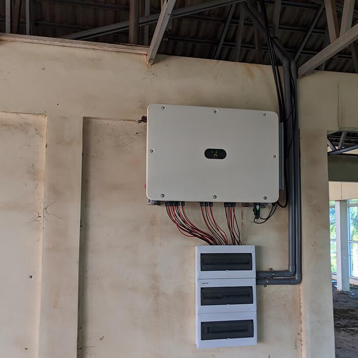 Dự án điện mặt trời hòa lưới 269KW cho Công ty cao su Chư Sê Gia Lai 14