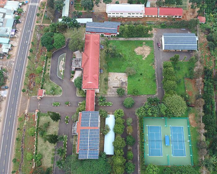 Dự án điện mặt trời hòa lưới 269KW cho Công ty cao su Chư Sê Gia Lai 2