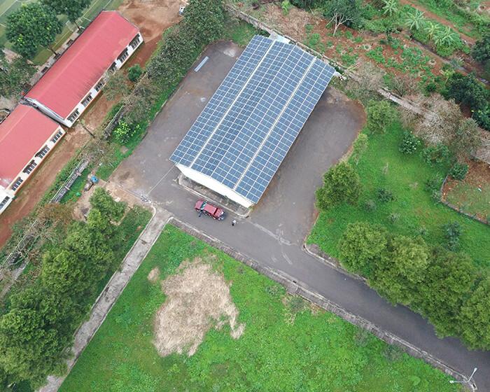 Dự án điện mặt trời hòa lưới 269KW cho Công ty cao su Chư Sê Gia Lai 3