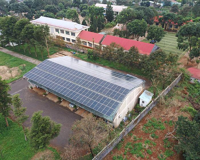 Dự án điện mặt trời hòa lưới 269KW cho Công ty cao su Chư Sê Gia Lai 4