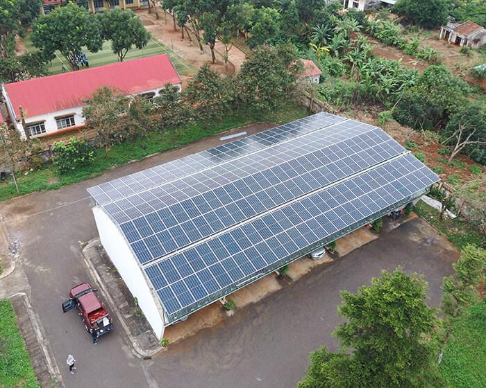Dự án điện mặt trời hòa lưới 269KW cho Công ty cao su Chư Sê Gia Lai 5