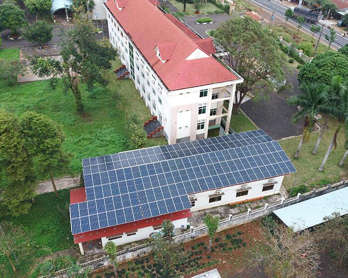 Dự án điện mặt trời hòa lưới 269KW cho Công ty cao su Chư Sê Gia Lai 6