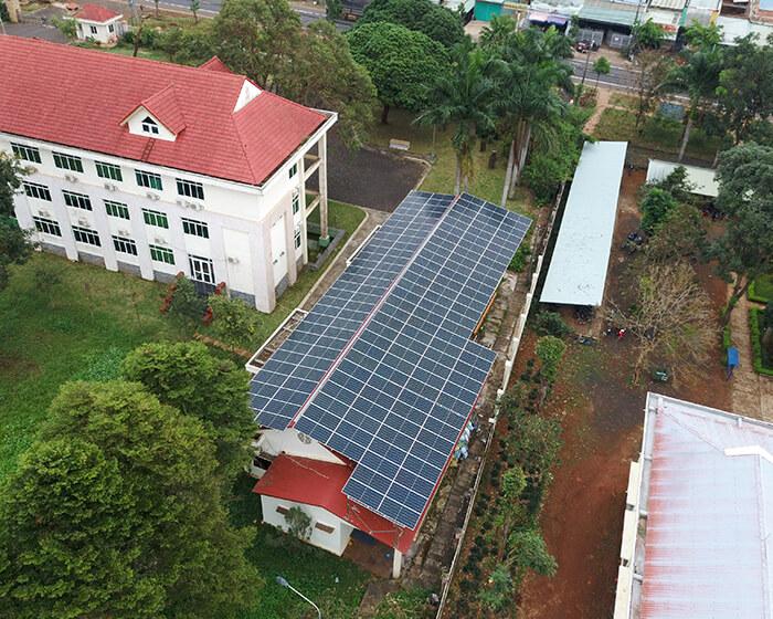 Dự án điện mặt trời hòa lưới 269KW cho Công ty cao su Chư Sê Gia Lai 7