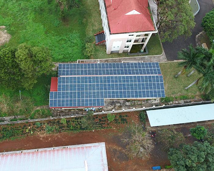Dự án điện mặt trời hòa lưới 269KW cho Công ty cao su Chư Sê Gia Lai 8