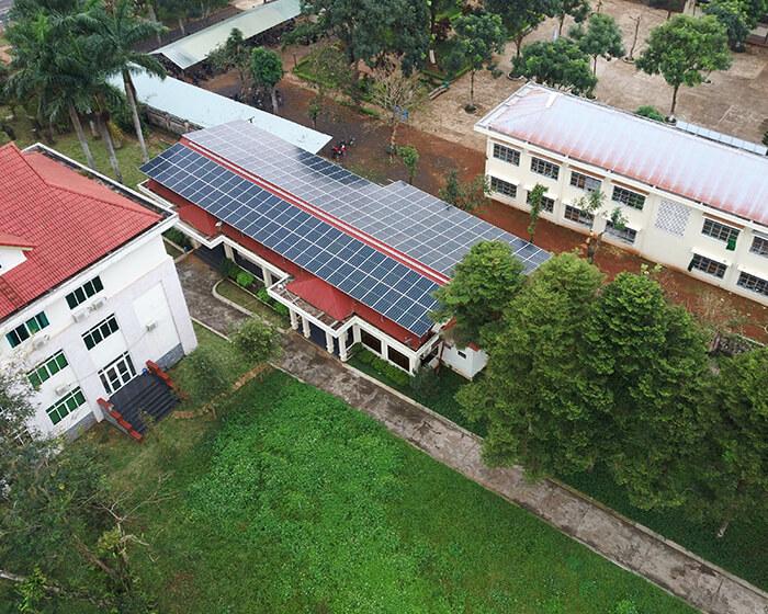 Dự án điện mặt trời hòa lưới 269KW cho Công ty cao su Chư Sê Gia Lai 9