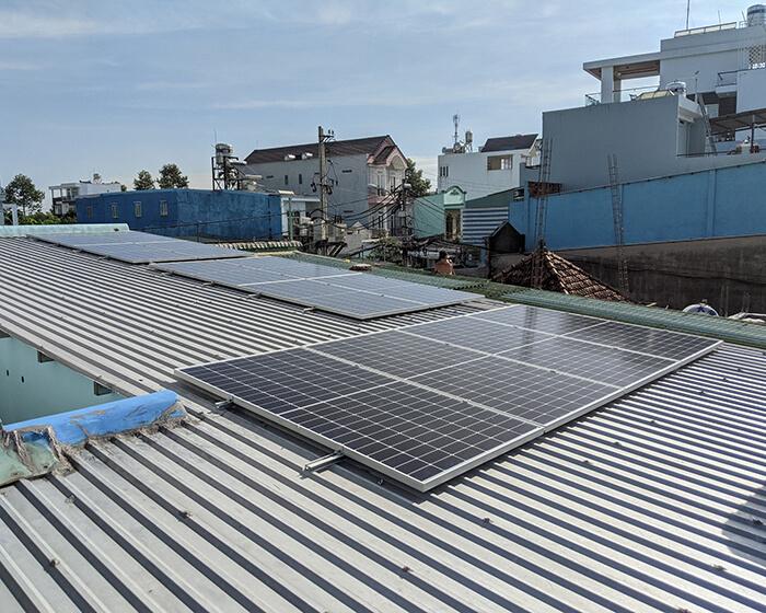 Dự án điện mặt trời hòa lưới 5KW cho anh Út ở Hóc Môn 2