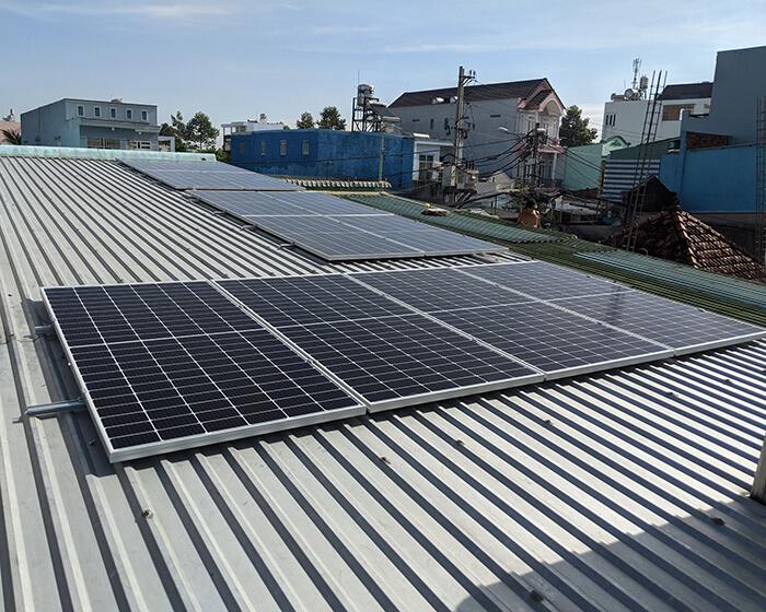 Dự án điện mặt trời hòa lưới 5KW cho anh Út ở Hóc Môn 3