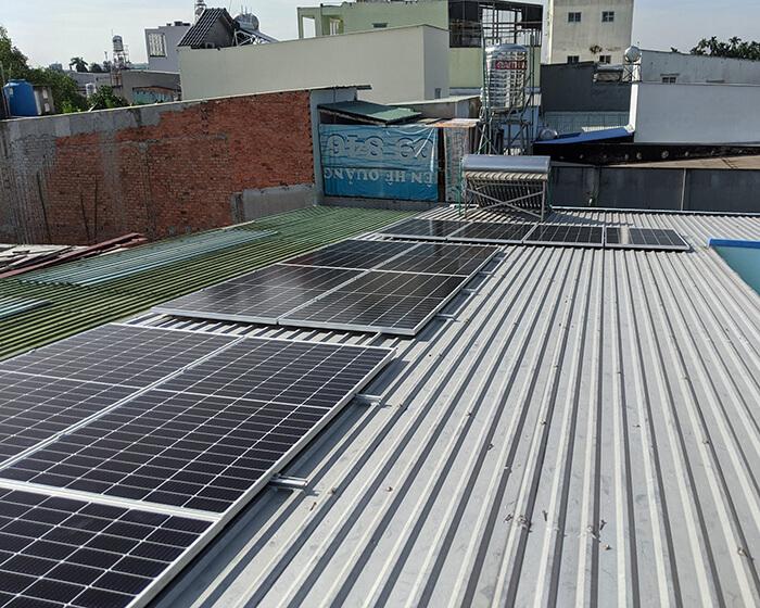 Dự án điện mặt trời hòa lưới 5KW cho anh Út ở Hóc Môn 4