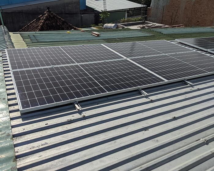 Dự án điện mặt trời hòa lưới 5KW cho anh Út ở Hóc Môn 5