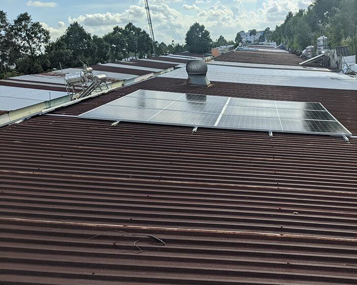 Dự án điện mặt trời hòa lưới 8KW ở Khu dân cư Phú An Cần Thơ 6
