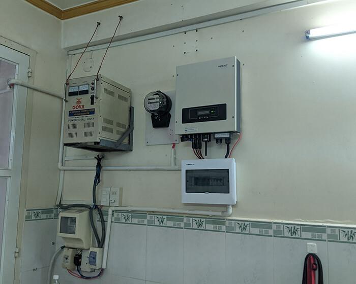 Dự án điện mặt trời hòa lưới 8KW ở Khu dân cư Phú An Cần Thơ 7